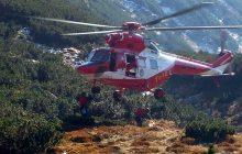 Tragiczny wypadek w Tatrach, nie żyje turysta. Uwaga na bardzo śliskie szlaki!
