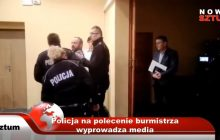 Cenzura mediów przez polityków. Wiceburmistrz Sztumu kazał policji usunąć dziennikarza [WIDEO]