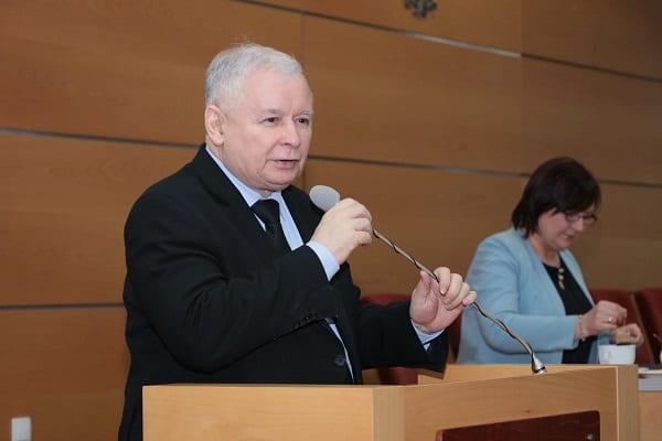 Jarosław Kaczyński: Najpierw państwo, później własność i rynek [WIDEO]
