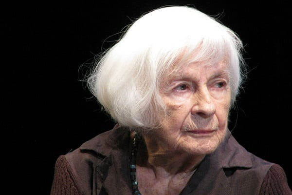 Znakomita polska aktorka, Danuta Szaflarska, kończy dziś 102 lata. Wszystkiego najlepszego!