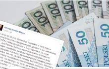 Mocny wpis JKM nt. zagrożonych oszczędności emerytalnych.