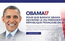 Obama prezydentem Francji? Powstała specjalna petycja!