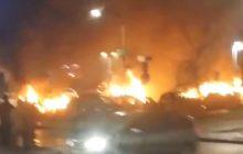Szwecja: Zamieszki w dzielnicy zamieszkałej przez imigrantów. Policja użyła broni! [WIDEO]