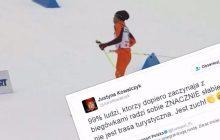 Justyna Kowalczyk skomentowała kuriozalny występ Wenezuelczyka podczas MŚ w Lahti.