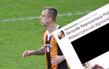 Kamil Grosicki rozbawił internautów! Opublikował na Twitterze pewną fotografię.