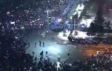 Gigantyczne demonstracje w Rumunii! Ludzie od kilku dni protestują na ulicach [WIDEO]