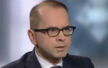 Dziennikarz TVP Info policzył Michałowi Szczerbie ile razy podczas rozmowy wypowiedział słowo