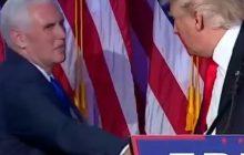 Donald Trump zyskuje przewagę już na początku spotkania? Zobacz jak wita się nowy prezydent USA [WIDEO]