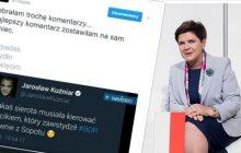 Blogerka przygotowała zestawienie komentarzy dziennikarzy i polityków po wypadku Szydło. Tylko jedna osoba zachowała klasę