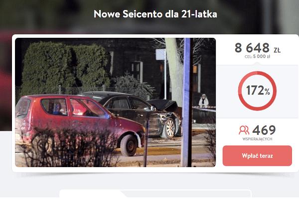 Co dalej z pieniędzmi ze zbiórki na seicento? Portal DoRzeczy.pl podaje najnowsze informacje
