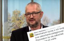 Oryginalne życzenia walentynkowe Ziemkiewicza.