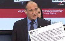 Paweł Kukiz krytykuje propozycje zmian w samorządach.