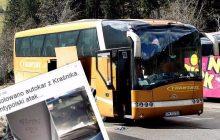 Polski autokar zdemolowany w Anglii. Pozostawiono obraźliwe napisy, a straty to ponad 100 tysięcy złotych!