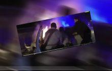 Dramatyczne nagranie. Policjanci wyciągnęli kierowcę z płonącego samochodu [WIDEO]