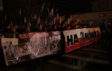 Marsz Żołnierzy Wyklętych przeszedł przez Hajnówkę. Pomimo emocji, obyło się bez incydentów