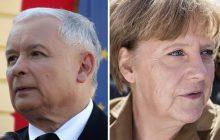 Opozycja musi być w szoku. Kaczyński potajemnie spotykał się z Merkel już w zeszłym roku