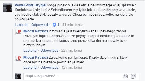 Fot. Facebook.com/Młodzi Patrioci