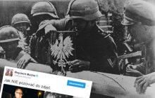 """Pamiętacie słynną fotografię z 1939 roku? Działacze KOD i PO postanowili do niej nawiązać. """"Szlaban politycznych manipulacji"""" [FOTO]"""