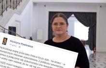 Emocjonalny wpis Krystyny Pawłowicz. Posłanka wzywa do bojkotu