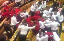 RPA: Wielka bijatyka w parlamencie. W ruch poszły granaty hukowe [WIDEO]