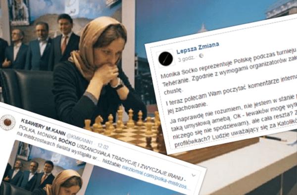 Polska szachistka zobowiązana do gry w hidżabie. Internauci komentują [FOTO]