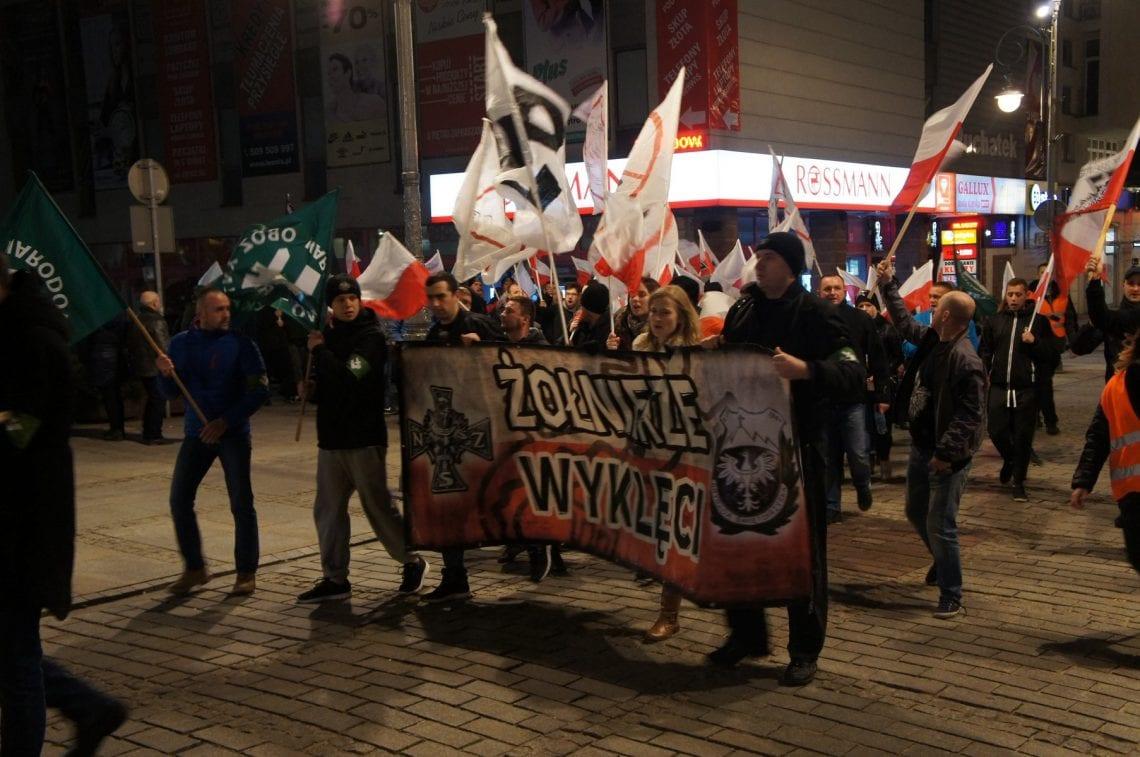 Marsz Pamięci Żołnierzy Wyklętych przeszedł przez Kielce [ZDJĘCIA, VIDEO]