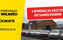 Kukiz'15 proponuje likwidację akcyzy na samochody. Jaka będzie reakcja rządu?