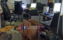 Bulwersująca sytuacja w kieleckim centrum powiadamiania ratunkowego. Operatorzy śpią zamiast czuwać przy telefonie!