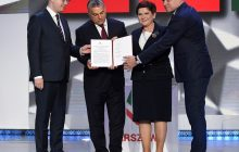 Premierzy Grupy Wyszehradzkiej podpisali Deklarację Warszawską