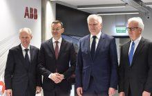 Globalne Centrum Usług Wspólnych ABB zainaugurowało swoją działalność. Żart Morawieckiego odnośnie... opodatkowania robotów