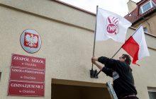 Szkoły bez lekcji, flagi, plakaty - ogólnopolski protest Związku Nauczycielstwa Polskiego