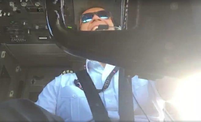 Świat zachwycony walką polskiego pilota z wiatrem. Mężczyzna nie dał się pokonać [WIDEO]