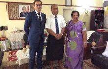 Polska ma pierwszego ambasadora na Kiribati. W tym kraju znajduje się miejscowość o nazwie Poland
