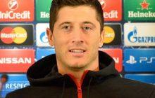 Lewandowski niezadowolony po meczu z Czarnogórą.