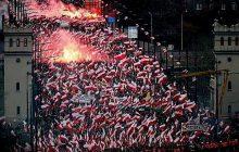 Jest decyzja prokuratury ws. spalenia flagi Ukrainy na Marszu Niepodległości