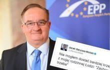 Tweet Saryusz-Wolskiego wzbudził ogromne zainteresowanie.
