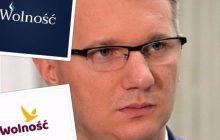 Przemysław Wipler prezentuje propozycje nowego logo partii Wolność. Ożywiona dyskusja wśród sympatyków ugrupowania [FOTO]