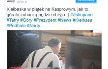 #KiełbasaGate wstrząsnęła Twitterem. Prezydent Duda jadł w piątek mięso czy pomidora? To nie żart!