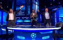 Niesamowite nagranie ze studia angielskiej TV. Byli piłkarze dosłownie oszaleli po golu dla Barcelony! [WIDEO]