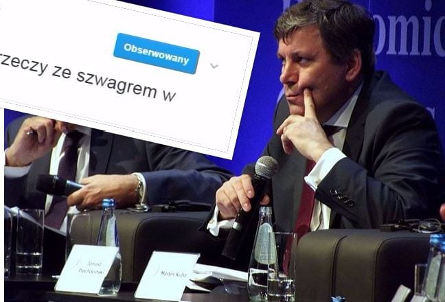 Co robił Janusz Piechociński, gdy Barcelona strzelała gola na wagę awansu?