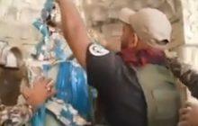 Budujące nagranie z Iraku. Żołnierze oddają hołd figurze Maryi zniszczonej przez ISIS [WIDEO]