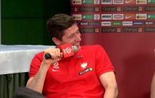Robert Lewandowski o meczu z Czarnogórą: