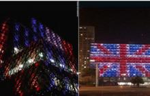 Budynki w Tel Awiwie i Birmingham podświetlone w hołdzie ofiarom zamachu w Londynie [FOTO+WIDEO]
