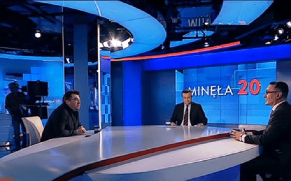 To poszło na żywo! Dziennikarz Onet.pl ostro o niezależności TVP na jej antenie [WIDEO]