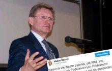 Ogórek odpowiada na słowa Balcerowicza.