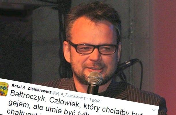 Ziemkiewicz odpowiada na kontrowersyjny wpis satyryka.