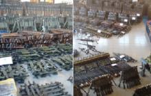 Europol skonfiskował ponad 10 tys. sztuk broni, która miała trafić do islamskich terrorystów [FOTO+WIDEO]