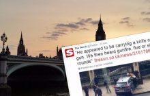 Samochód wjechał w tłum pod Parlamentem w Londynie. Jedna osoba nie żyje! [WIDEO]
