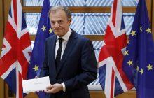Oficjalnie: Wielka Brytania rozpoczęła procedurę wyjścia z UE! Złożono list na ręce Donalda Tuska