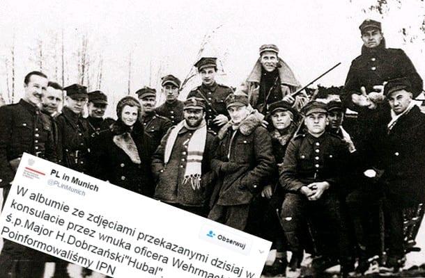 Wnuk niemieckiego oficera przekazał polskim władzom album, w którym jest zdjęcie